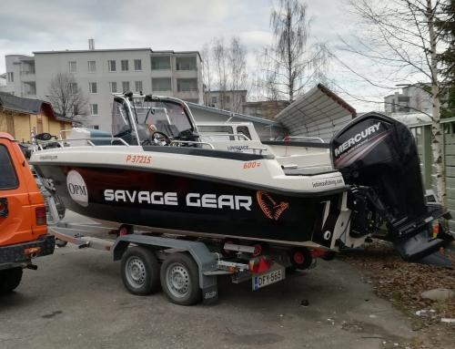 Savage Gear kalastusvene